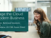 Leverage the Cloud for Modern Business