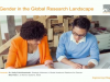 Data to support engineering diversity initiatives: The Gender Research Report