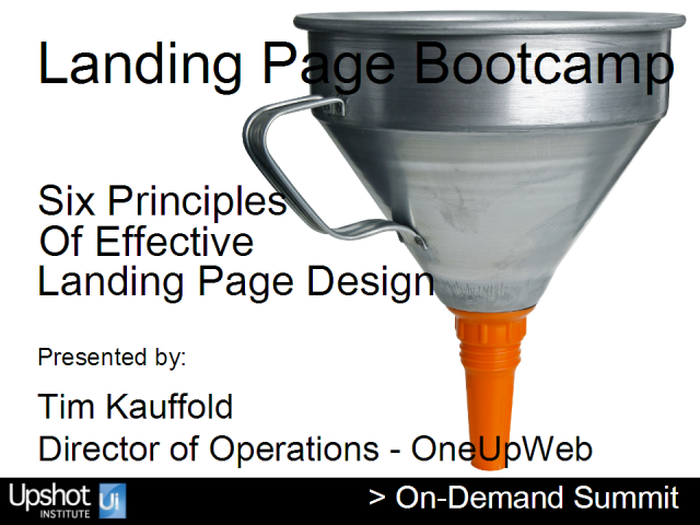 Six Principles of Effective Landing Page Design