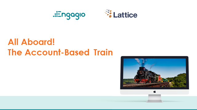 All Aboard! 1-2-3s for the Account-Based Train
