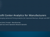 Profit Center Analytics for Manufacturers