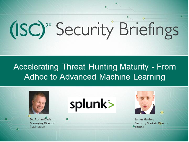 Accelerating Threat Hunting Maturity - From Adhoc to Advanced Machine Learning