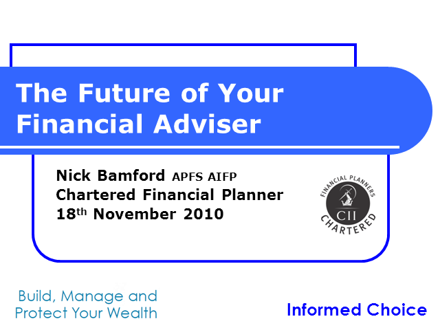 The Future of Your Financial Adviser