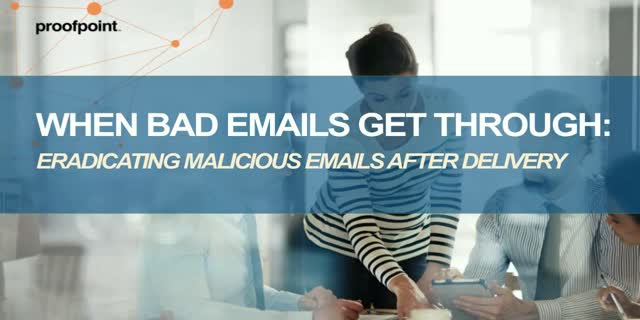 Eradicating Malware Emails After Delivery