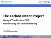 The Carbon Intent Project - Using ICT to reduce CO2