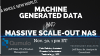 A Whole New World: Machine-Generated Data and Massive Scale-Out NAS