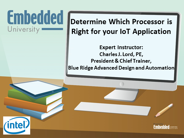 Determine Which Processor is Right for your IoT Application
