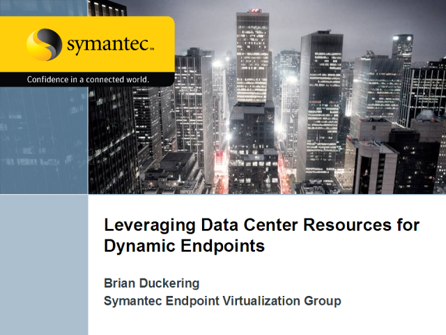 Leveraging Data Center Resources for Dynamic Endpoints