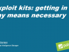 Exploit kits: getting in by any means necessary