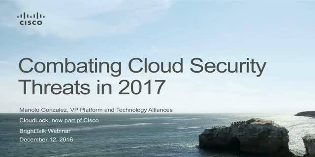 Combating Cloud Security Threats in 2017