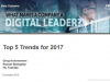 ASIA PACIFIC TECHNOLOGY TRENDS FOR 2017