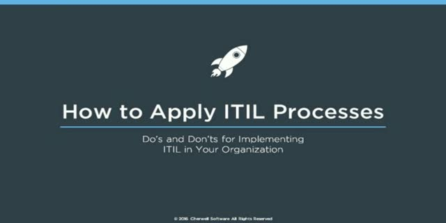 Do's and Don'ts for Implementing ITIL in Your Organization