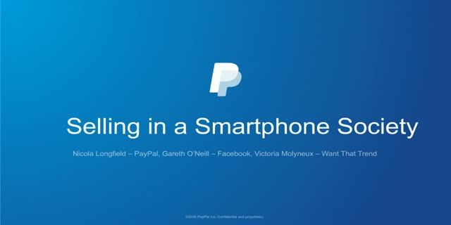 Selling in a Smartphone Society