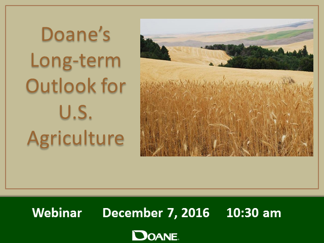 Doane's Long-term Outlook for U.S. Agriculture