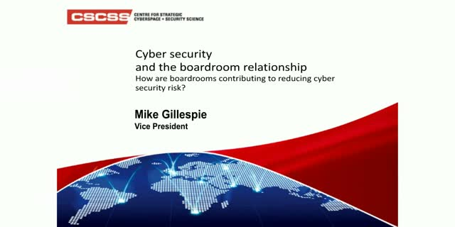 Cyber Security and the Boardroom Relationship