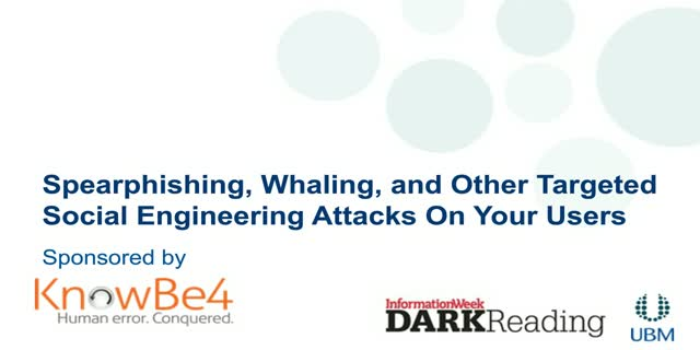 Spearphishing, Whaling, and Other Targeted Social Engineering Attacks On Your Us