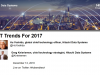 IT Trends for 2017