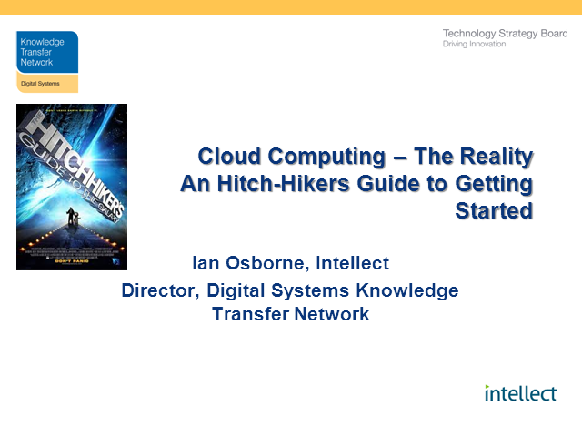 Cloud – The Reality: A Hitch-Hiker's Guide to Getting Started