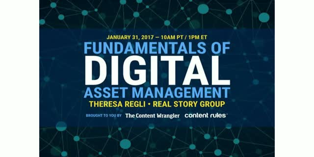 Fundamentals of Digital Asset Management