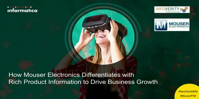 How Mouser Electronics Differentiates with Rich Product Information