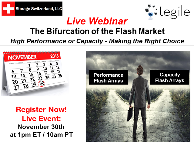 The Bifurcation of the Flash Market