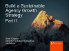 Build a Sustainable Agency Growth Strategy - Part II