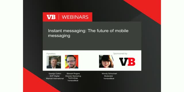 Instant messaging: The future of mobile marketing