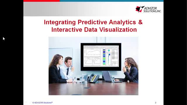 Integrating Predictive Modeling & Interactive Data Visualization