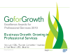 Business Growth: Growing in Professional Services