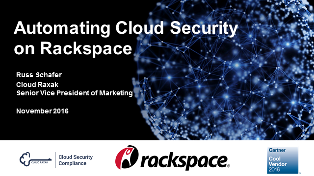 Rackspace Automated Cloud Security