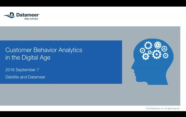 Customer Behavior Analytics in the Digital Age