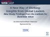 A New Way of Working: Insights from Global Leaders