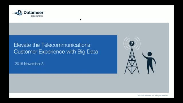 Elevate the Telecommunications Customer Experience with Big Data Analytics