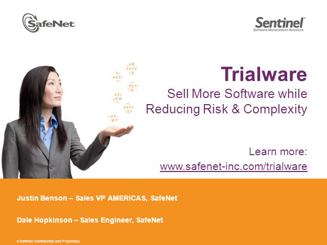 Trialware – How to Sell More of Your Software