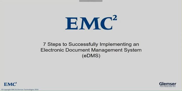 Electronic Document Management Best Practices for Life Sciences | Dell EMC