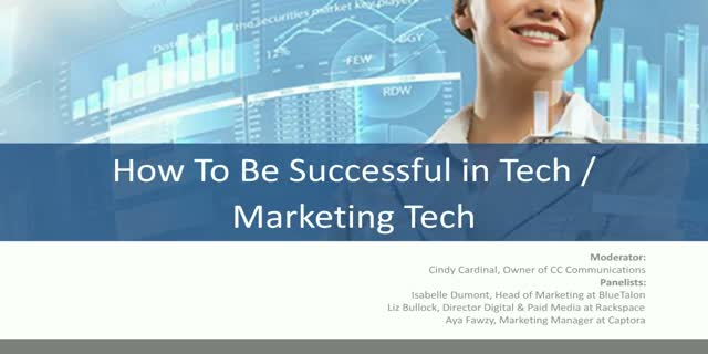 How to Launch a Successful Career as a Woman in Marketing Technology