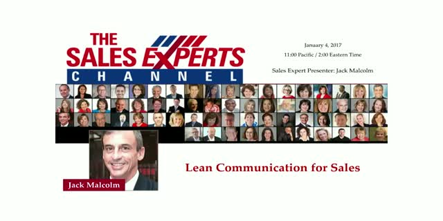 Lean Communication for Sales