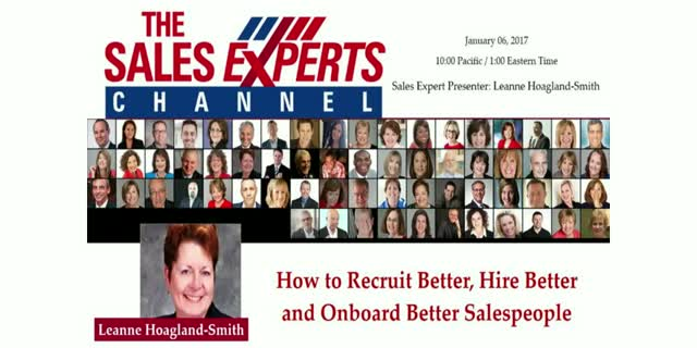 How to Recruit Better, Hire Better and Onboard Better Salespeople