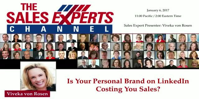 Is Your Personal Brand on LinkedIn Costing You Sales?