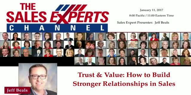 Trust & Value: How to Build Stronger Relationships in Sales