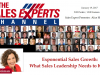Exponential Sales Growth: What Sales Leadership Needs to Know