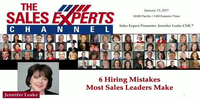 6 Hiring Mistakes Most Sales Leaders Make