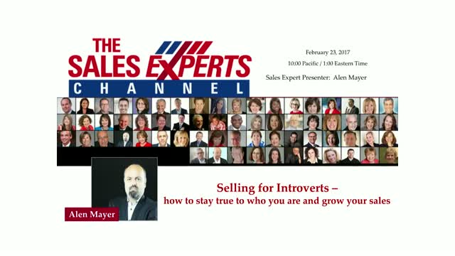 Selling for Introverts - how to stay true to who you are and grow your sales