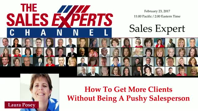 How To Get More Clients Without Being A Pushy Salesperson
