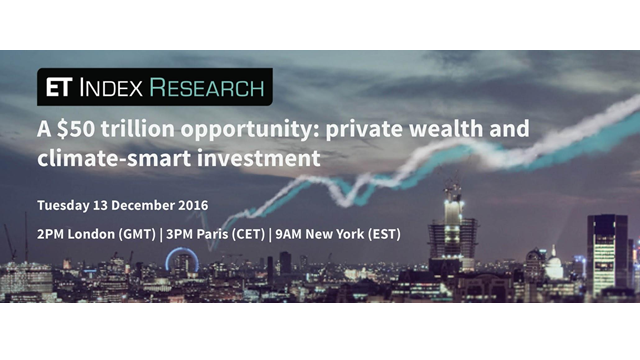 A $50 trillion opportunity: private wealth & climate-smart investments