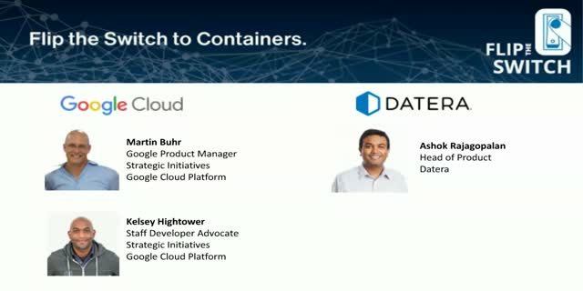 Flip the Switch to Containers