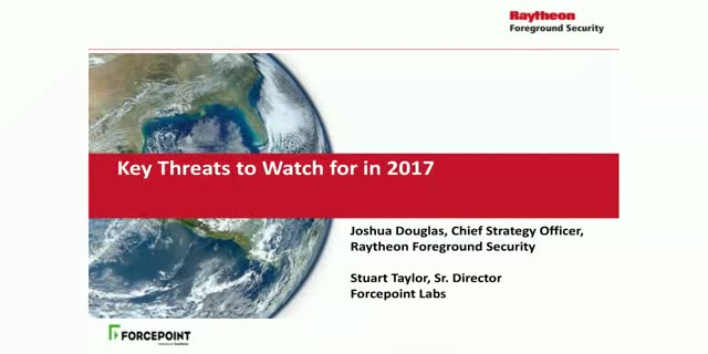 Key Threats To Look Out for in 2017
