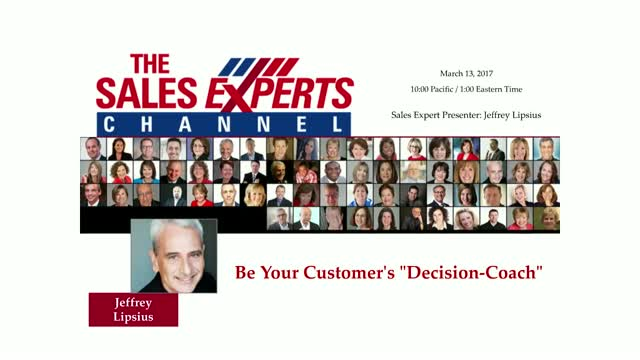 "Be Your Customer's ""Decision-Coach"""