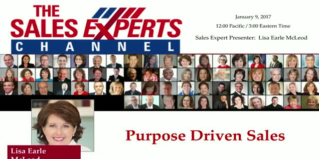 Purpose Driven Sales
