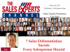 7 Sales Differentiation Secrets Every Salesperson Should Know